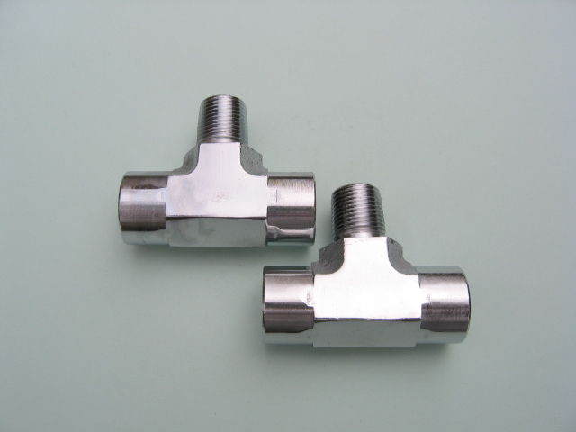 """Lowrider Hydraulics 1//2/""""m to 1//2/""""f elbow fittings 2 pack Chrome"""